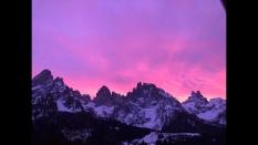 Sunrise San Martino di Castrozza